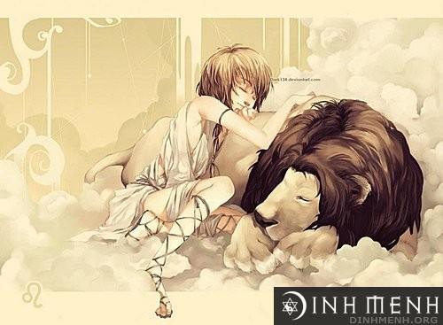 Cung bạch dương và cung sư tử