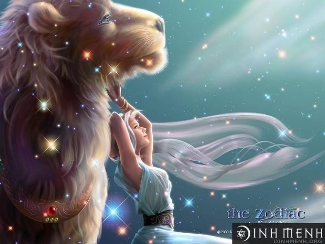 Cung thiên bình và sư tử