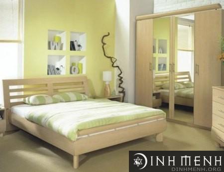 Hướng kê giường hợp người sinh năm 1962 Nhâm Dần