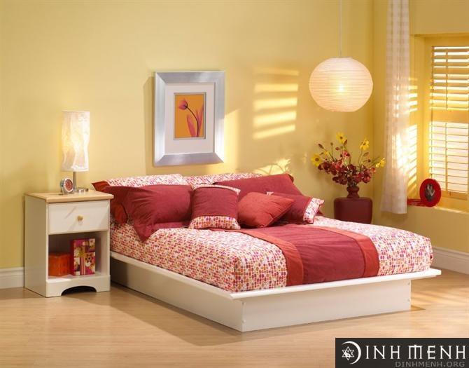 Hướng kê giường hợp người sinh năm 1989 Kỷ Tỵ