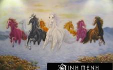 Bài trí biểu tượng ngựa trong nhà để tài lộc sinh sôi