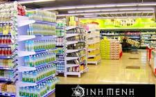 Bố trí gian hàng kinh doanh trong khu thương mại