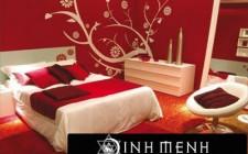 Bố trí màu sắc, ánh sáng và đồ vật trong phòng ngủ