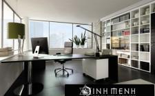 Bố trí nội thất phòng làm việc giúp tăng hiệu quả làm việc