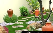Cách bố trí sân vườn hài hòa âm dương, ngũ hành