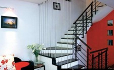 Cầu thang hình xoắn ốc không tốt cho nhà ở