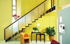 Cầu thang tránh đặt giữa nhà
