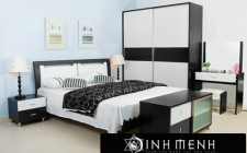 Kệ tủ đặt trong phòng ngủ sẽ sinh ra sát khí