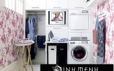 Máy giặt trong nhà cũng cần bài trí hợp phong thủy