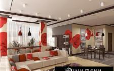 Những nguyên tắc phong thủy cần lưu ý khi thiết kế phòng khách
