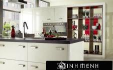 Những nguyên tắc phong thủy trong thiết kế nhà bếp