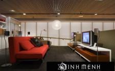 Phong thủy bố trí cho phòng giải trí trong nhà