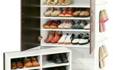 Phong thủy bố trí cho tủ đựng giày