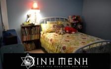 Phong thủy bố trí giường trong phòng ngủ