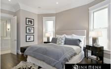Vị trí của giường ngủ theo phong thủy