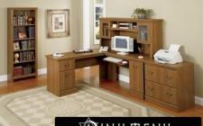Đặt bàn làm việc hài hòa theo nội, ngoại thất