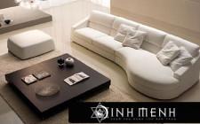 Bài trí sofa sao cho hợp lý ?