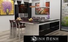 Cách bài trí nội thất cho phòng bếp