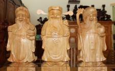 Cách chọn và bài trí tượng Phúc Lộc Thọ hợp khoa học phong thủy