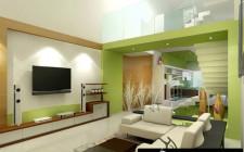 Cách hóa giải góc nhọn cho phòng khách