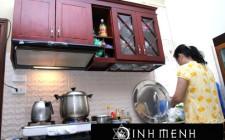 Cách hóa giải khoa học phong thủy cho nhà vệ sinh bố trí gần bếp