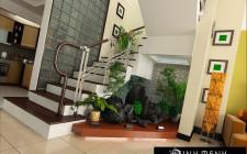 Cầu thang là nơi tiếp khí và dẫn khí