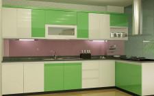 Có nên sơn bếp màu xanh ?