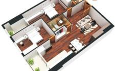 Cửa chính hợp khoa học phong thủy cho căn hộ chung cư