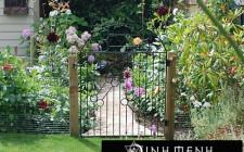 khoa học phong thủy cho cổng chính nhà vườn