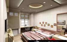 khoa học phong thủy trang trí cho trần nhà