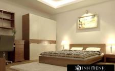khoa học phong thủy trong thiết kế nội thất phòng ngủ cho vợ chồng (P2)