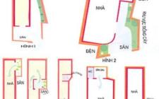 khoa học phong thủy xây nhà trên đất méo