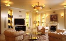 Lưu ý khi bài trí ghế sôfa và TV trong phòng khách