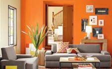 Lưu ý khi sử dụng màu da cam trong trang trí nội thất