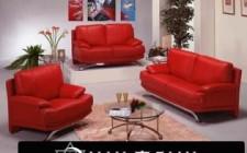 Màu đỏ mang năng lượng dương vào nhà