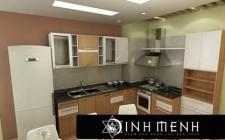 Nguyên tắc khoa học phong thủy trong bố trí nhà bếp