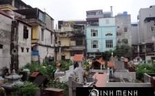 Nhà ở không nên xây gần khu nghĩa địa