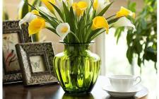 Những lưu ý đối với việc cắm hoa trong nhà
