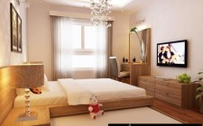 Phòng ngủ lãng mạn cho vợ chồng trẻ