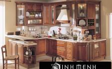 Sắp xếp đồ nhà bếp vừa hợp lý vừa hợp khoa học phong thủy