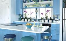 Sử dụng màu xanh dương đem lại nguồn năng lượng cho nhà ở
