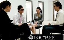 Vị trí ngồi mang lại may mắn khi đàm phán