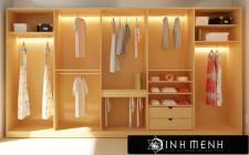 Vai trò của tủ quần áo trong khoa học phong thủy