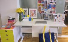 Ảnh hưởng các vật trong phòng làm việc tại nhà