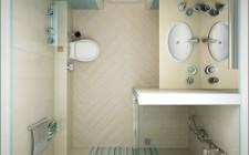Bài trí phòng tắm theo phong thủy