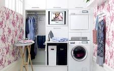 Bố trí và trang trí phòng giặt đúng phong thủy