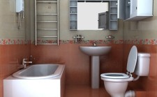 Bố trí và trang trí phòng vệ sinh cho hợp phong thủy