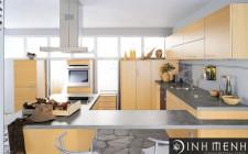 Chọn vật liệu cho phòng bếp