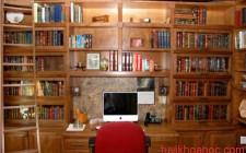 Làm thế nòa để bố trí một phòng sách lý tưởng