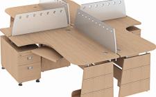 Lựa chọn hình dáng bàn làm việc cần xem xét những vấn đề gì?